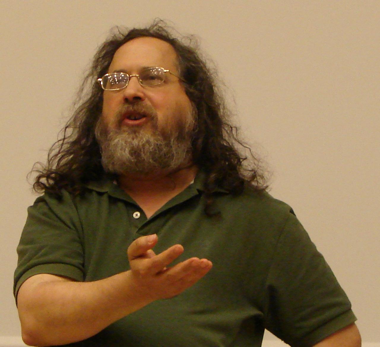 Richard Stallman, le créateur de GNU