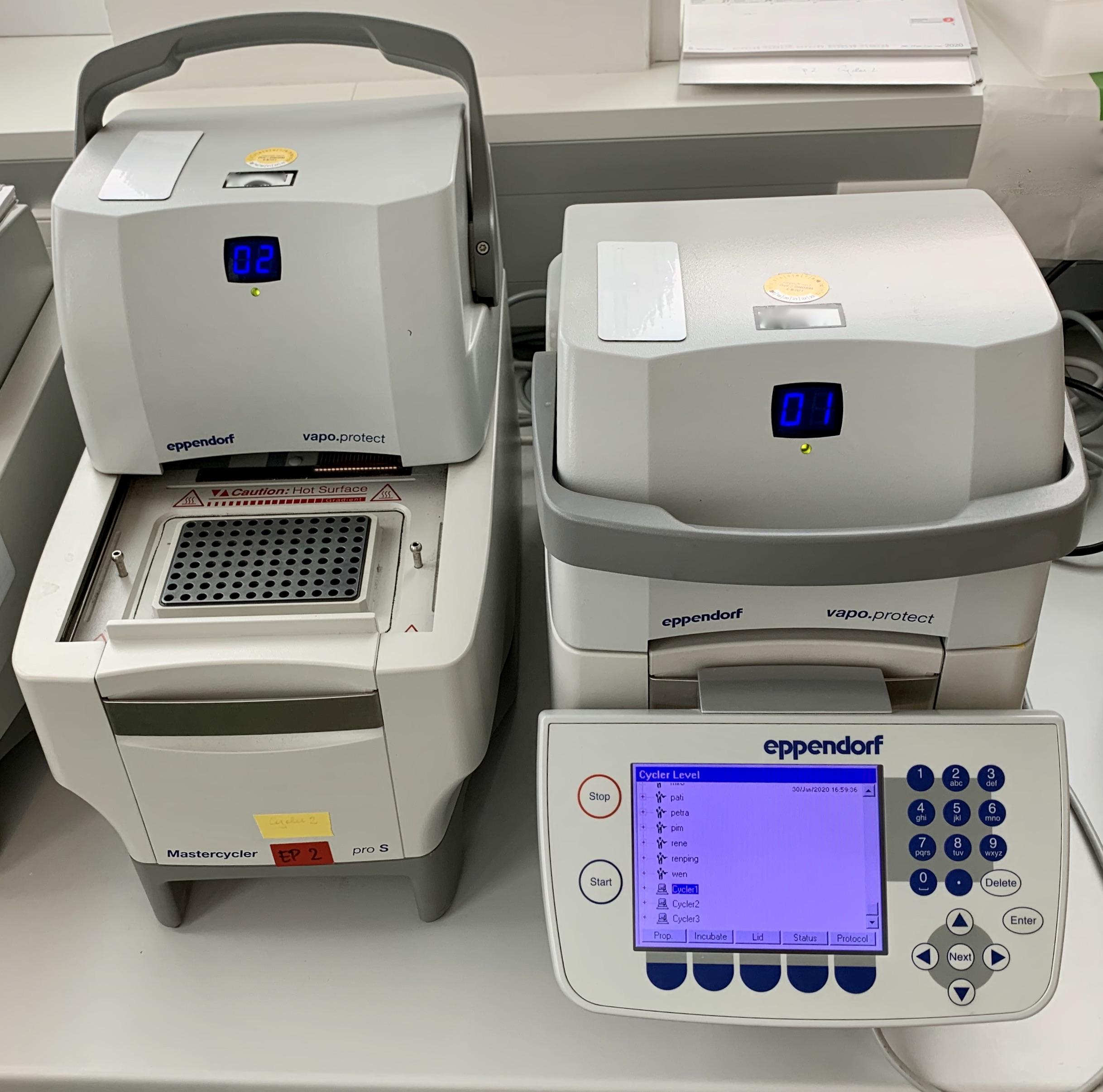 Cet appareil est utilisé pour réaliser des PCR