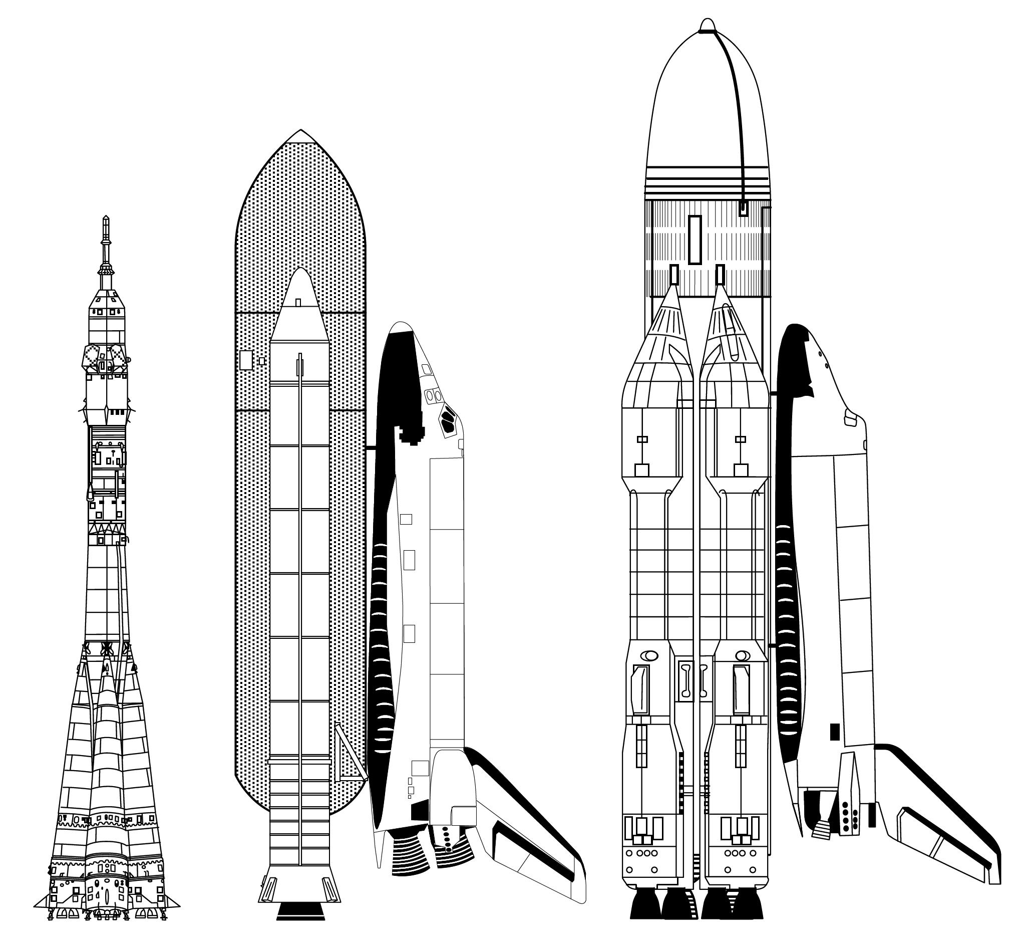 La navette spatiale Bourane ressemble à la navette américaine