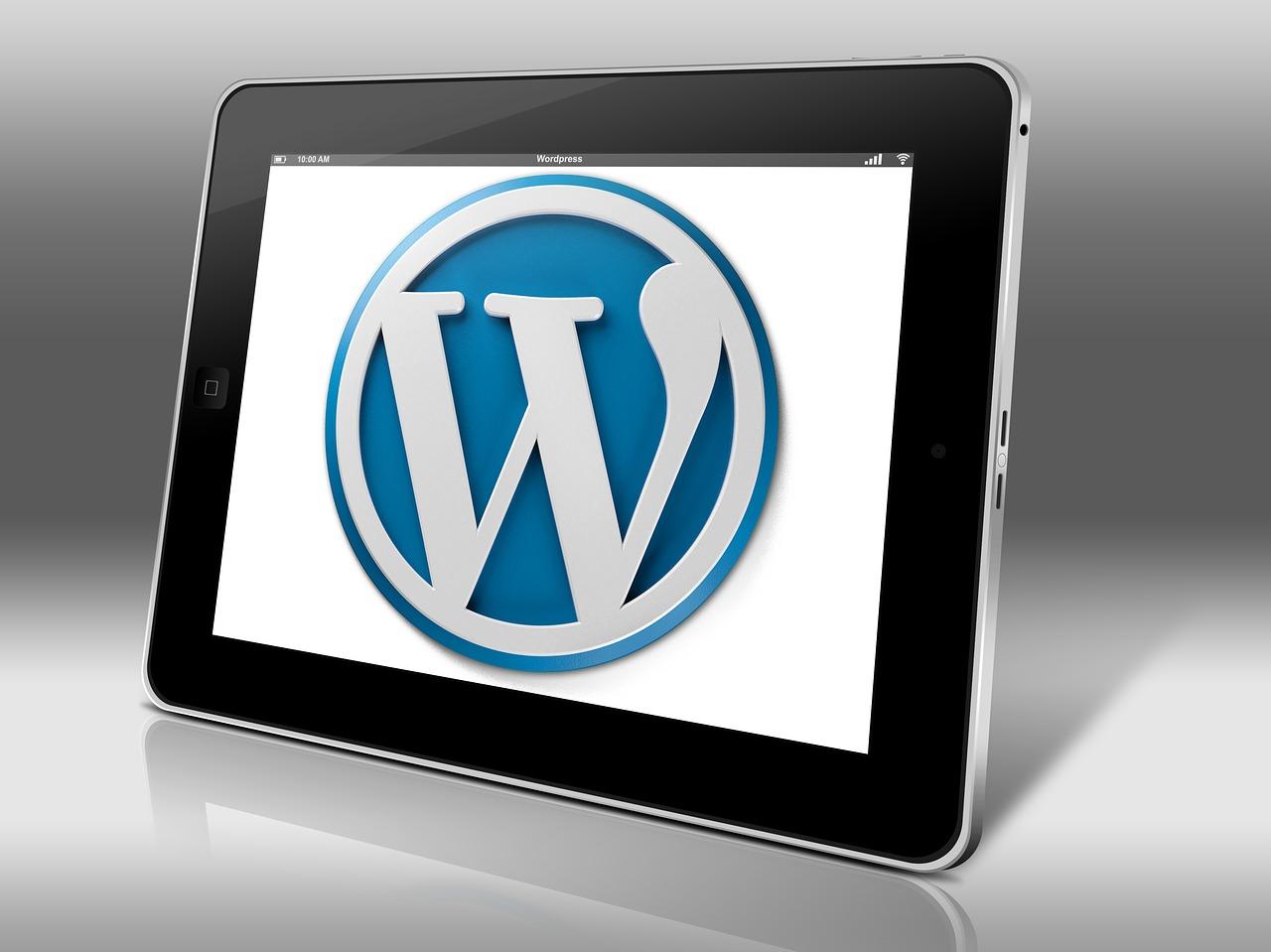 Un rédacteur web rédige dans WordPress